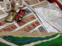 Lino blocks for houses and shops